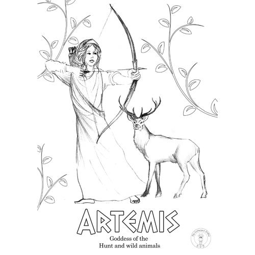 Greek God Apollo Coloring Page   Educazione musicale, Storia, Scuola   500x500