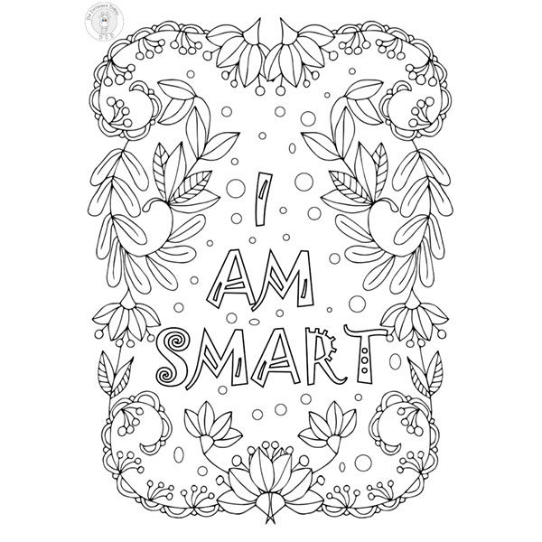 Kids Growth Mindset Coloring Pages Be Different Baby